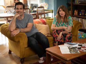 Sharon Horgan and Rob Delaney in Season 4 of 'Catastrophe.'