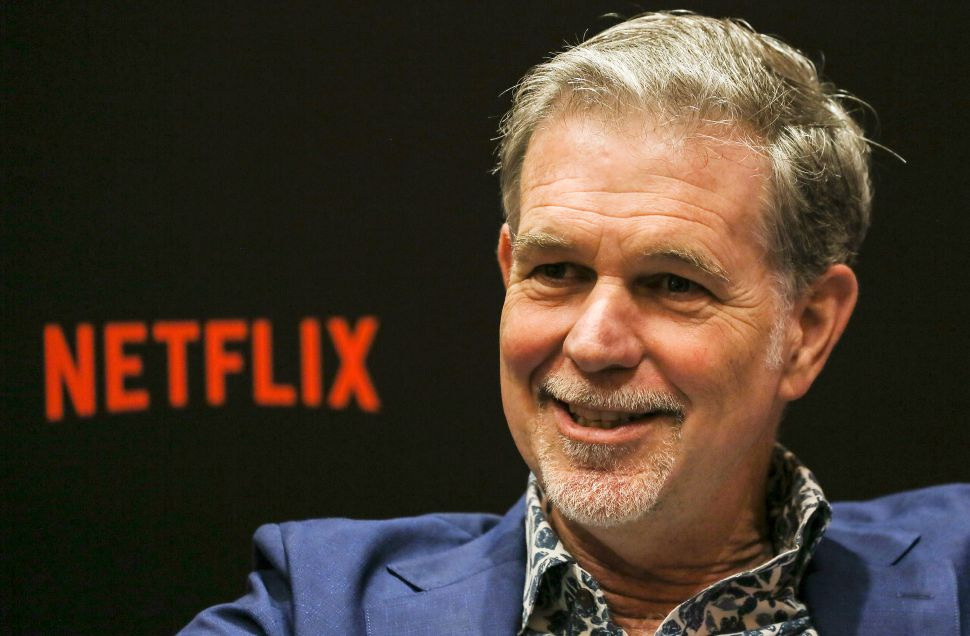 How Does Netflix Feel About All the Mounting Streaming Competition?