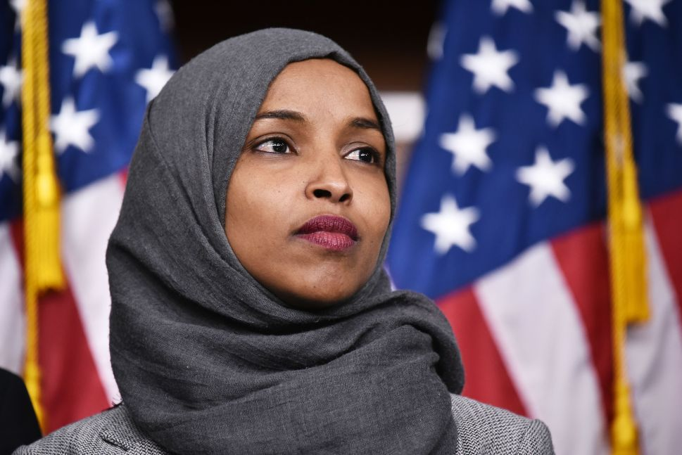 Stop Playing Into Ilhan Omar's Hands