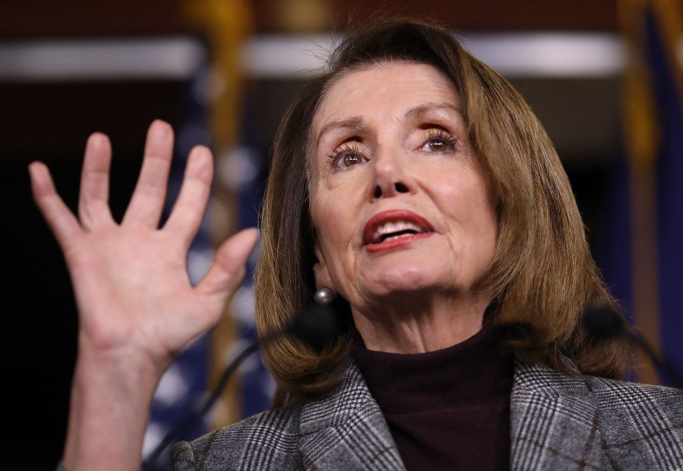 Nancy Pelosi Calls Anti-Corruption Bill a 'Power Grab' for the American People