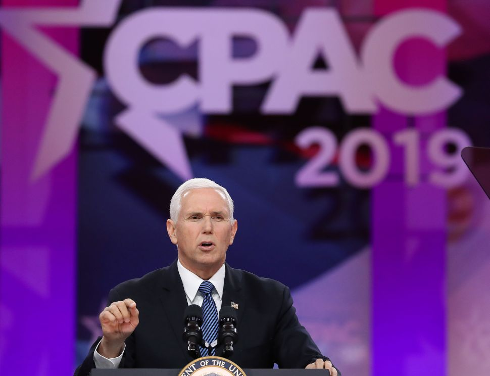 Mike Pence Warns Democratic Socialists Want to Make Poverty More 'Comfortable'