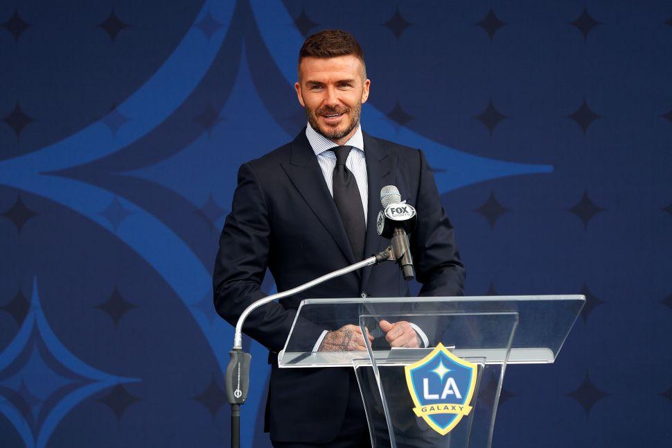 David Beckham's Response to James Corden's Ugly Statue Prank Is Actually Devastating