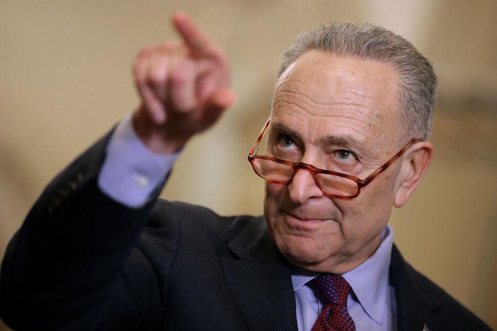 Chuck Schumer Pivots to 'Far More Detrimental' DOJ Controversy After Mueller Fallout