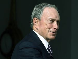Michael Bloomberg's force is strong within the Democratic Party.