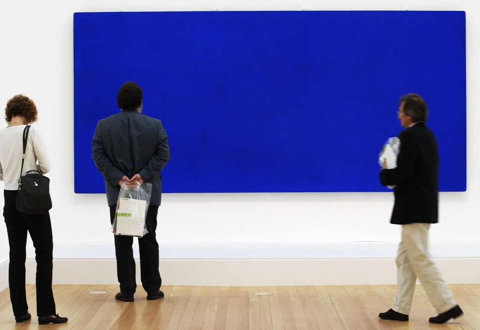 Yves Klein's Signature Blue Paint Is Now for Sale, So It's Easier Than Ever to Recreate a Priceless Artwork
