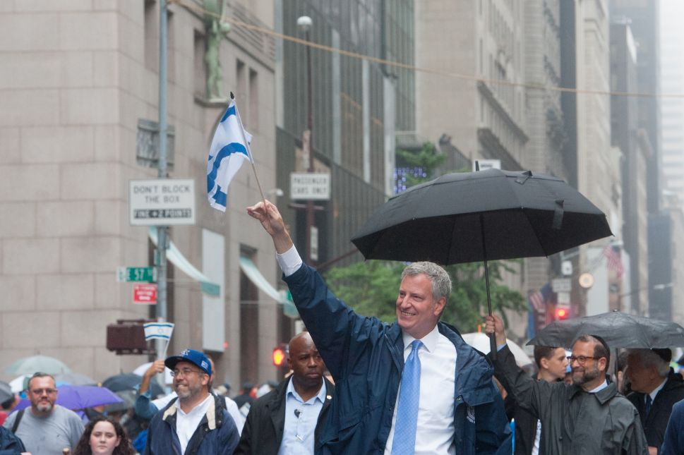 Bill De Blasio Makes a 'Progressive Case' Against BDS Boycotts at AIPAC