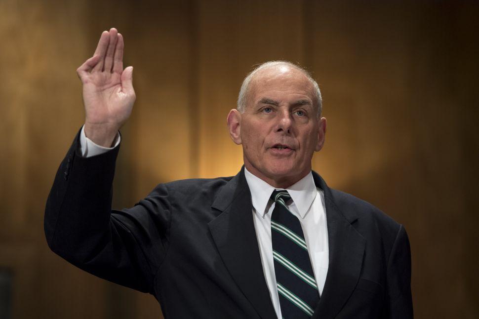 John Kelly Calls Trump's Border Wall a 'Waste of Money'