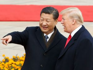 Chinese President Xi Jinping and U.S. President Donald Trump.