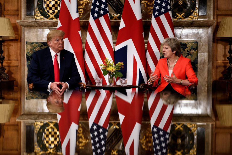 Brexit and the Border Wall, a Loose Comparison