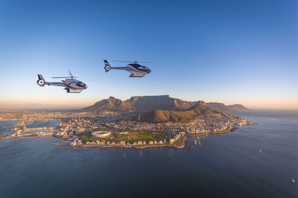 With Cape Town's Premiere Luxury Tour, You Can Take a Chopper to Your Very Own Gin Picnic