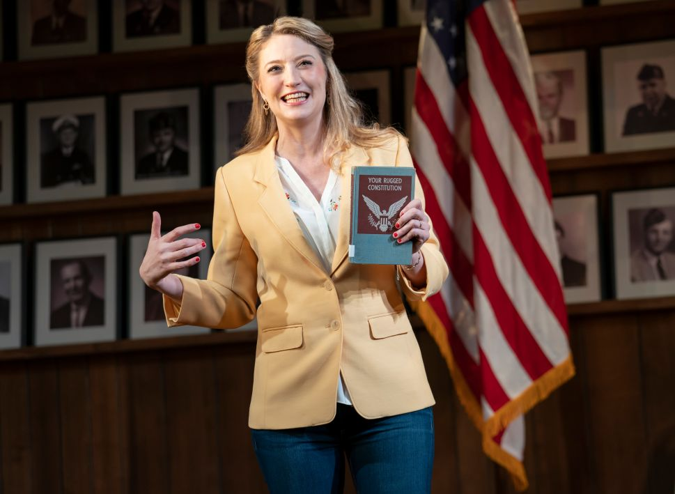 Heidi Schreck Shreds Our Toxic Supreme Law in 'What the Constitution Means to Me'
