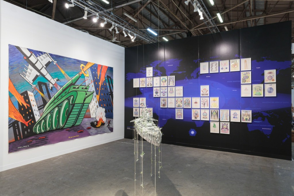 Armory Show Tour: A Fine Art Shipper on the Trends Being Sent to This Year's Fairs