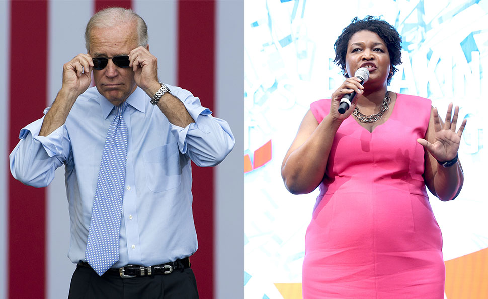Democratic A-Team: Can We Expect a Joe Biden-Stacey Abrams 2020 Run?