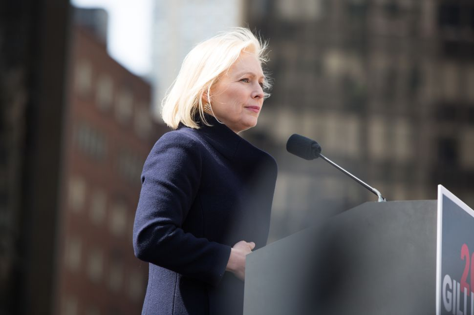 Portraits of Hope From Kirsten Gillibrand's 2020 Campaign Kickoff Outside Trump's Hotel