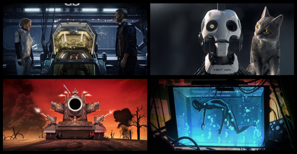 Netflix's 'Love, Death & Robots': An Adults-Only Cartoon That Revels in the Darkness