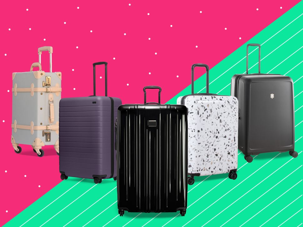 This Season's Best Checked Luggage Will Make Your Next Getaway a Stylish Breeze