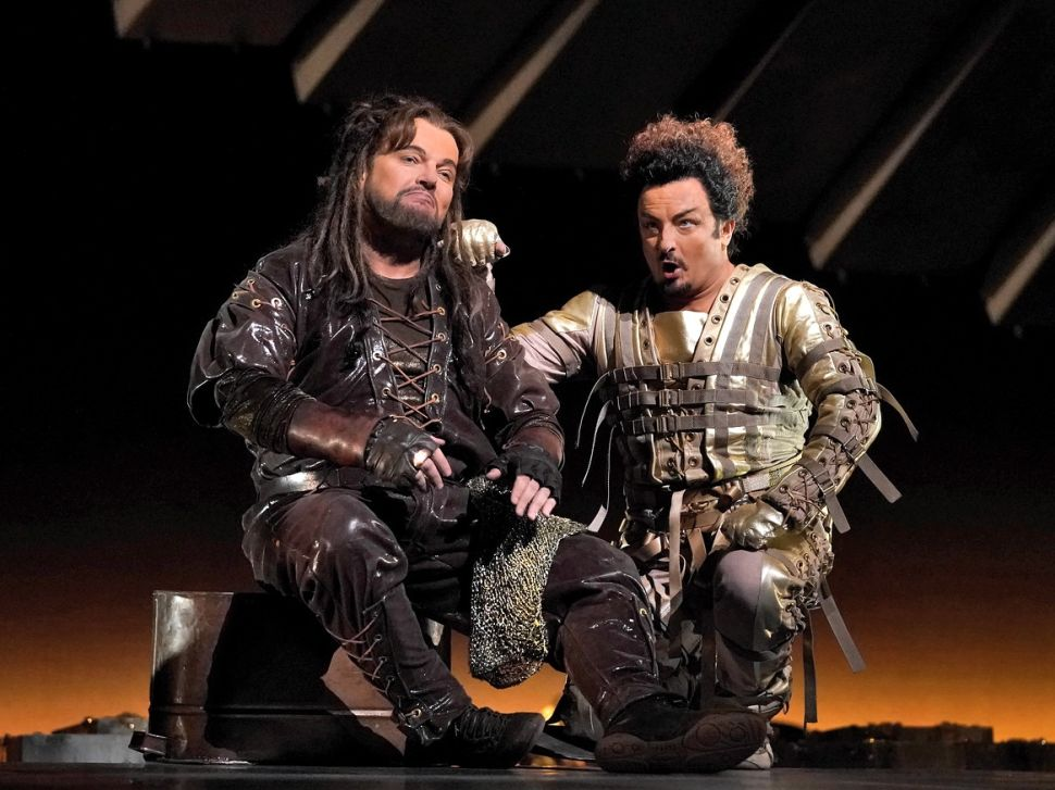 On Stage and Off, the Met's 'Das Rheingold' Tells a Story of Doom From the Start