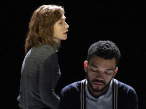Isabelle Huppert and Justice Smith in The Mother.