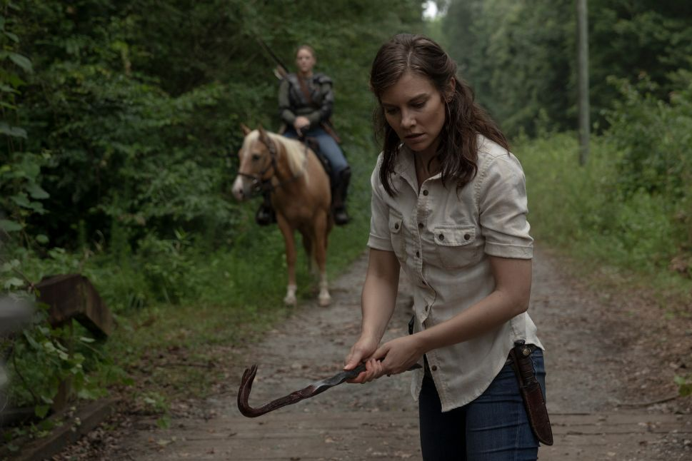 'Walking Dead' Fans, There's Still Hope—Lauren Cohan Says She's 'Not Done' Playing Maggie