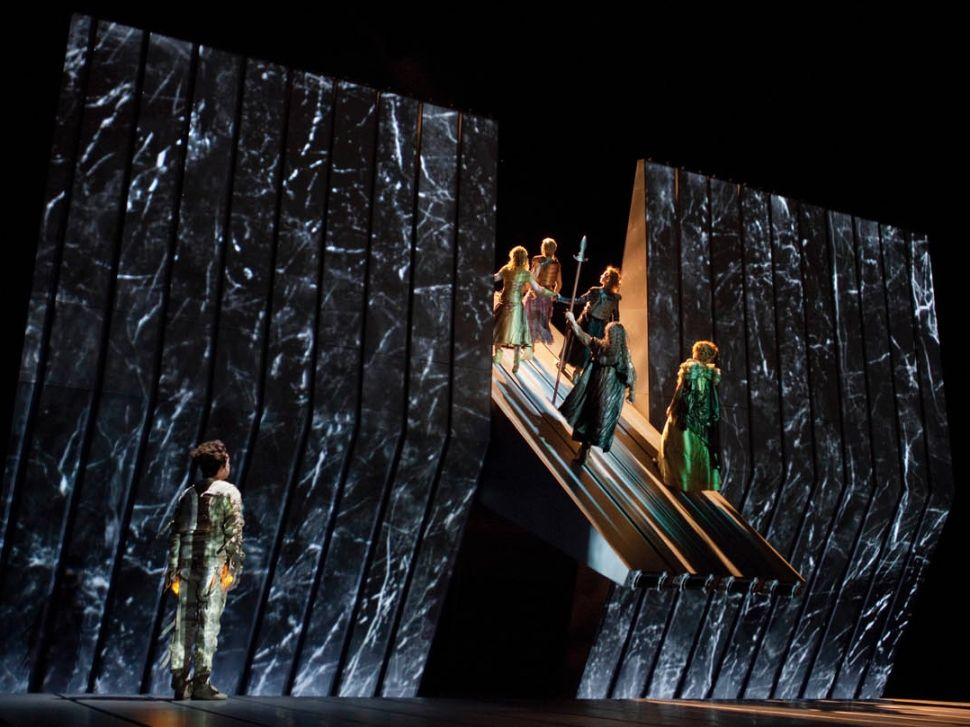 The Met Revives Wagner's Majestic 'Ring' Operas With Changes to Its Contentious Set