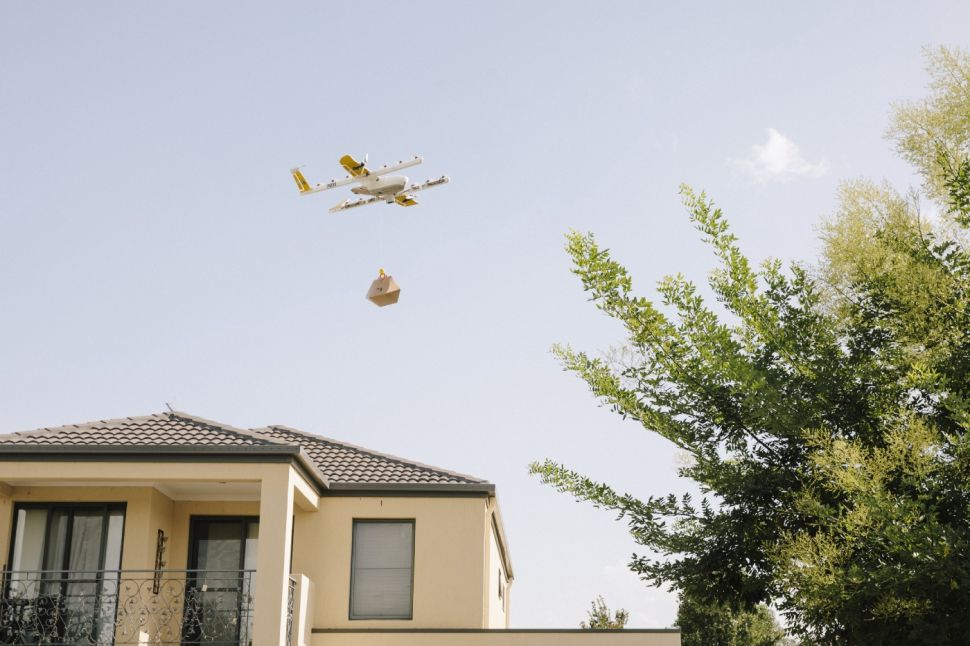 Google Launches First Drone Delivery Service in Australia