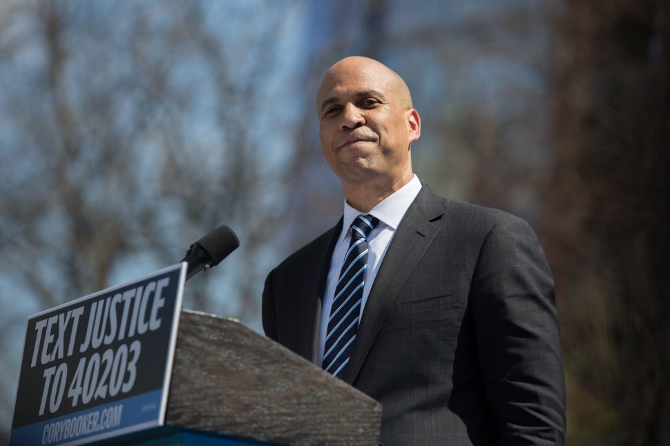NJ Politics Digest: Does Cory Booker Need to Get Angry?