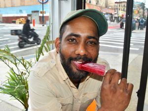 Khalid Hamid, co-founder of Island Pops