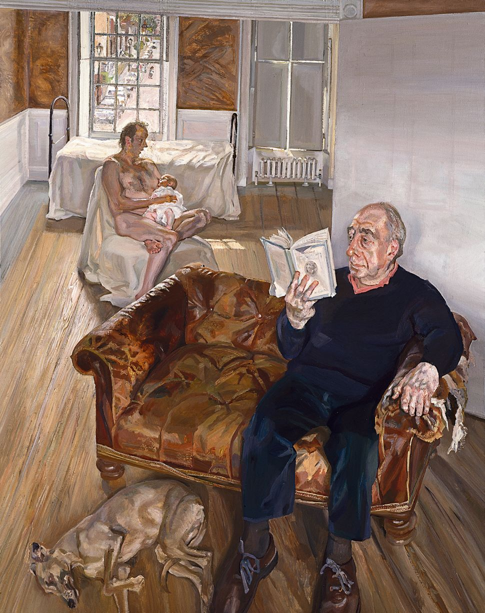 Sitting for Lucian Freud: The Painter's Longtime Assistant Describes His Meticulous Process