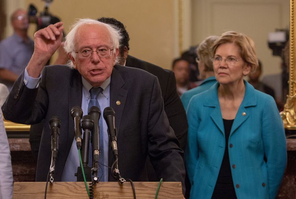 Is Bernie Sanders Sucking Up All of Elizabeth Warren's Oxygen?