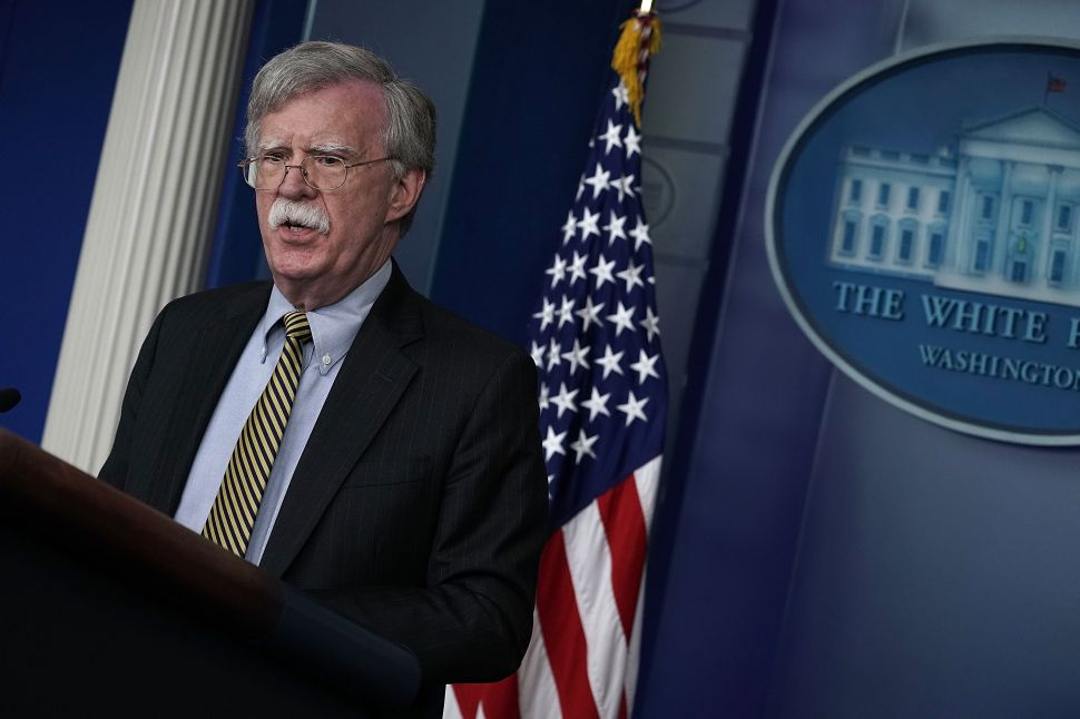 John Bolton Reaffirms America's Commitment to the Monroe Doctrine With New Sanctions