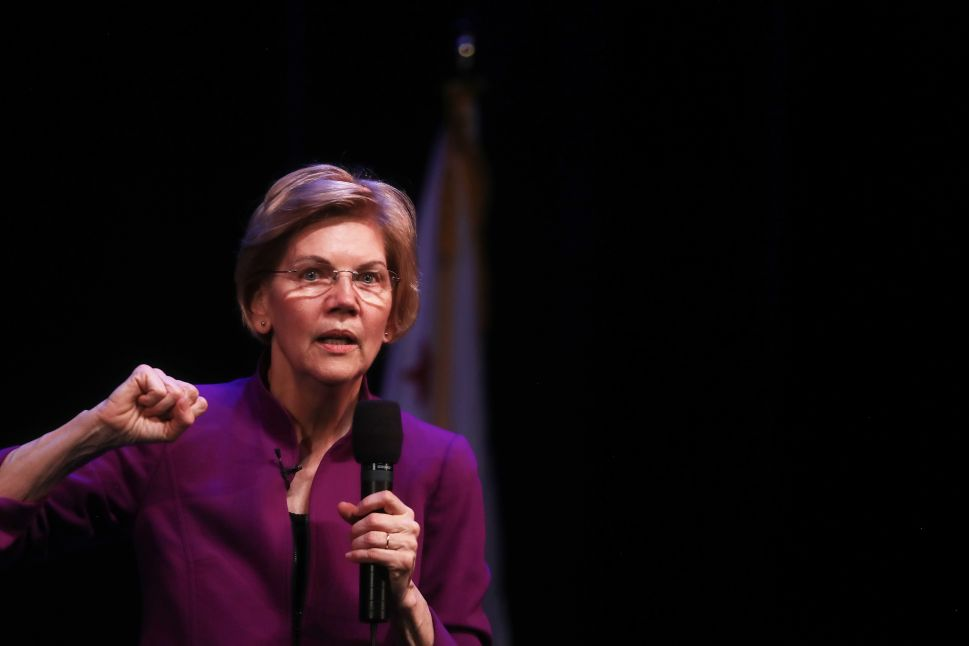 Elizabeth Warren Wants to Send CEOs to Jail for Company 'Mishaps'