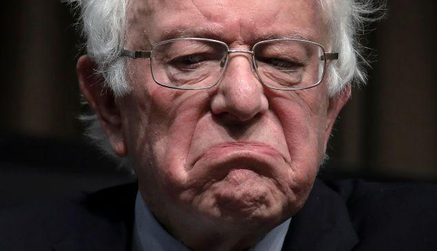 Democratic presidential candidate U.S. Sen. Bernie Sanders (I-VT).