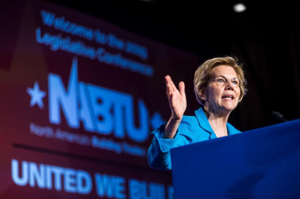 Elizabeth Warren Wants Amazon to Pay $698 Million More in Taxes