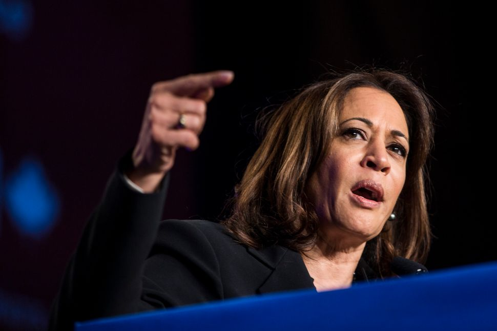 Kamala Harris Wants to Study Reparations, But Doesn't Know Whether to Implement Them