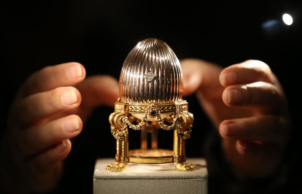 How the World's Most Expensive Easter Egg Ended Up in a US Flea Market as Scrap Metal