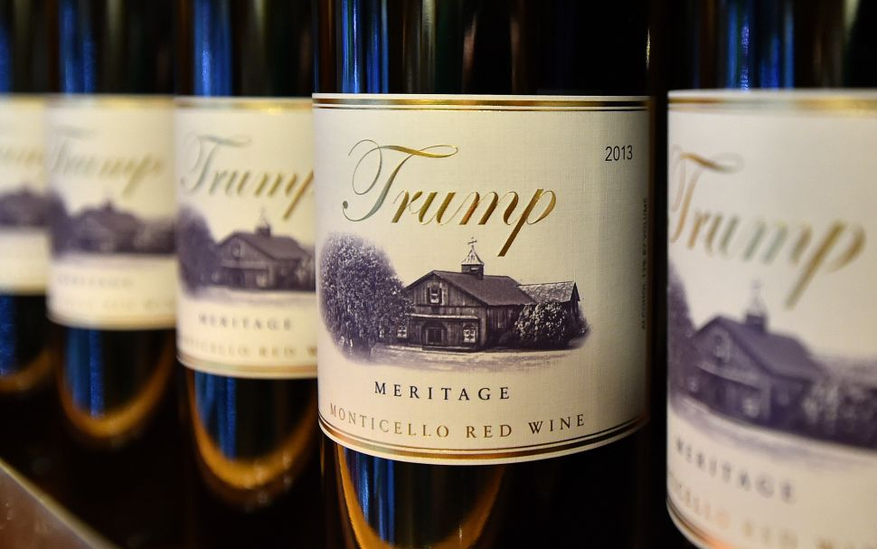 Trump Leans Into Possible EU Trade War By Threatening France's Wine and Cheese