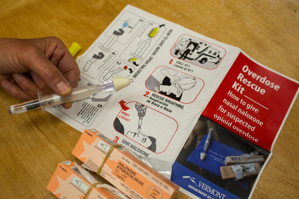 Why Aren't More People Taking Naloxone Overdose Reversal Training?