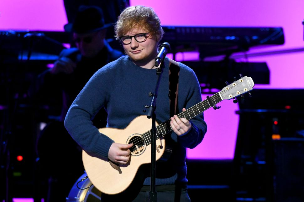 Ed Sheeran Will Have to Get Through Summer Without His Outdoor Sauna in Suffolk