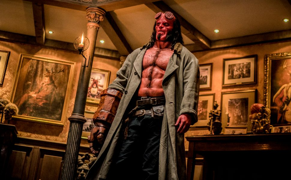 David Harbour Fights a Bland Script to Try to Make 'Hellboy' Compelling. He Loses.
