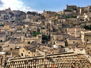 A view of the Sassi di Matera