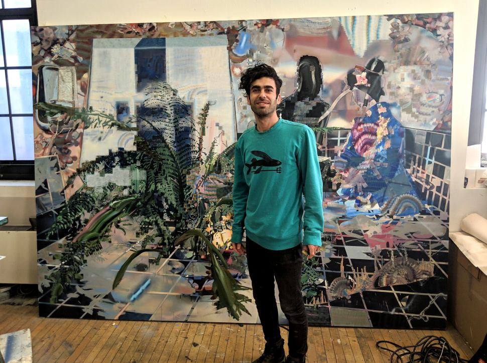 US-Based Iranian Artist Taha Heydari Censors His Own Work to Talk About State Control