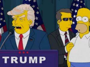 Donald Trump The Simpsons Disney Fox