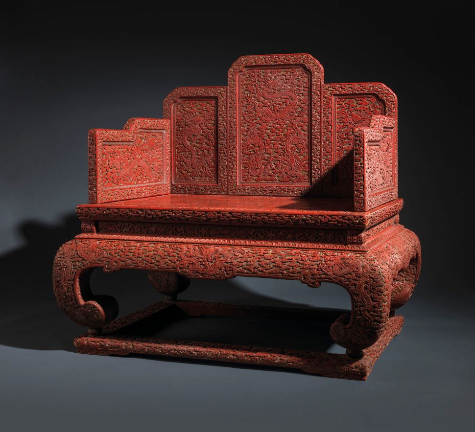 The Story of the Opulent 'Dragon Throne' Estimated to Fetch Over $1 Million at Christie's