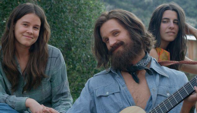 Sosie Bacon, Matt Smith and Marianne Rendón in Charlie Says.