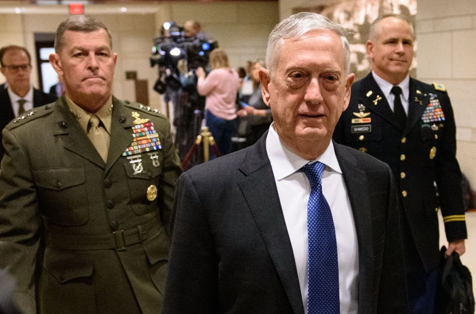 Breaking Silence, James Mattis Warns Trump Against War With Iran