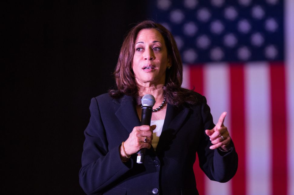Kamala Harris Wants to Ban Social Media Hate Speech If She's Elected President