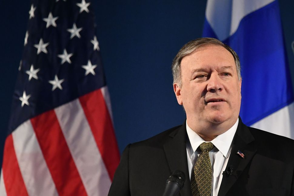 Mike Pompeo Praises Climate Change in the Arctic as 'New Opportunities for Trade'