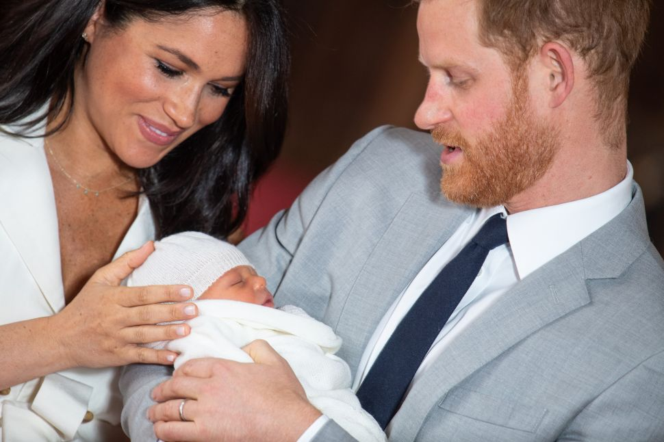 The Royal Baby Finally Has a Name—And It's Definitely Not Traditional