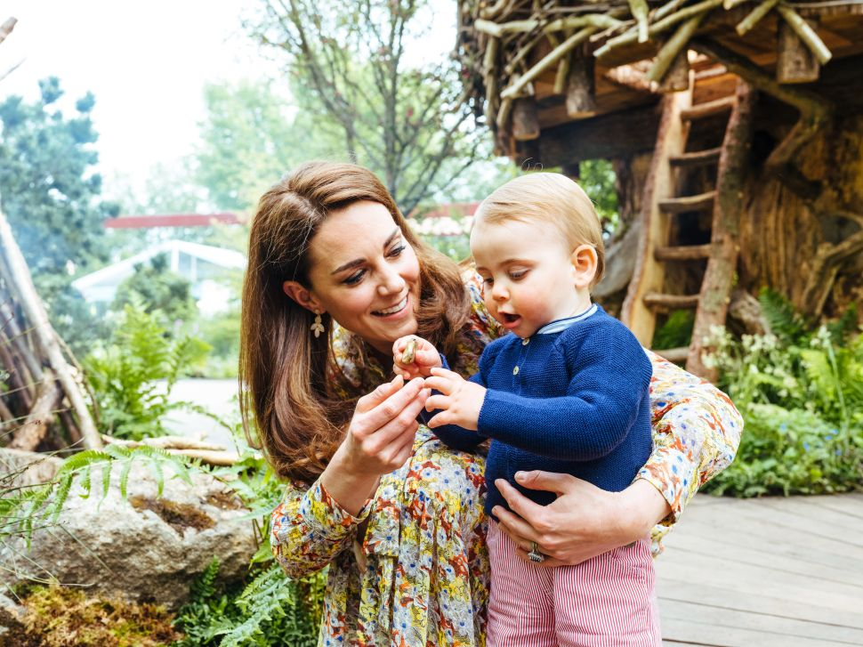 George, Charlotte and Louis Showed Off Their Green Thumbs in Kate Middleton's New Garden