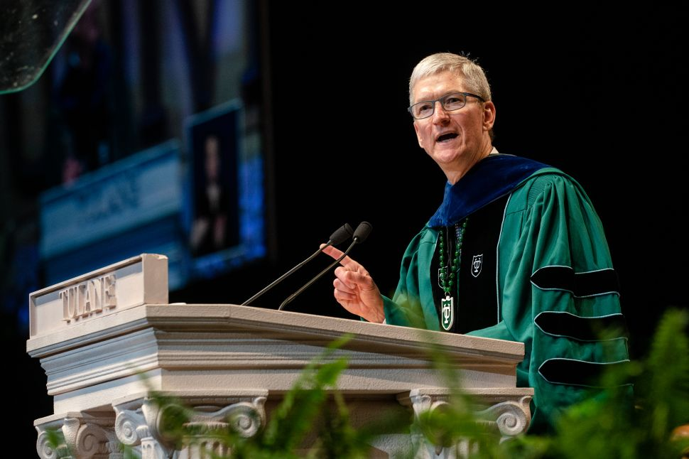 Apple CEO Tim Cook's Message to 2019 Graduates: 'My Generation Has Failed You'